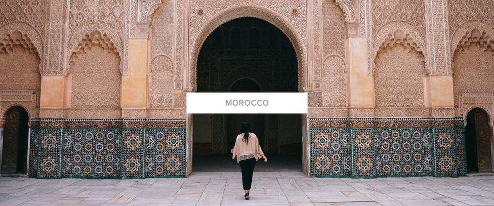 Morocco Bon Traveler