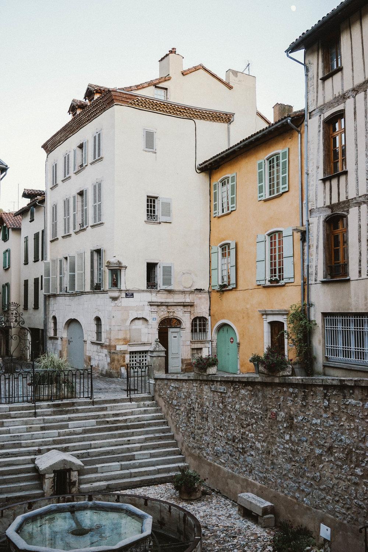 Visiting Villefranche-de-Rouergue, France