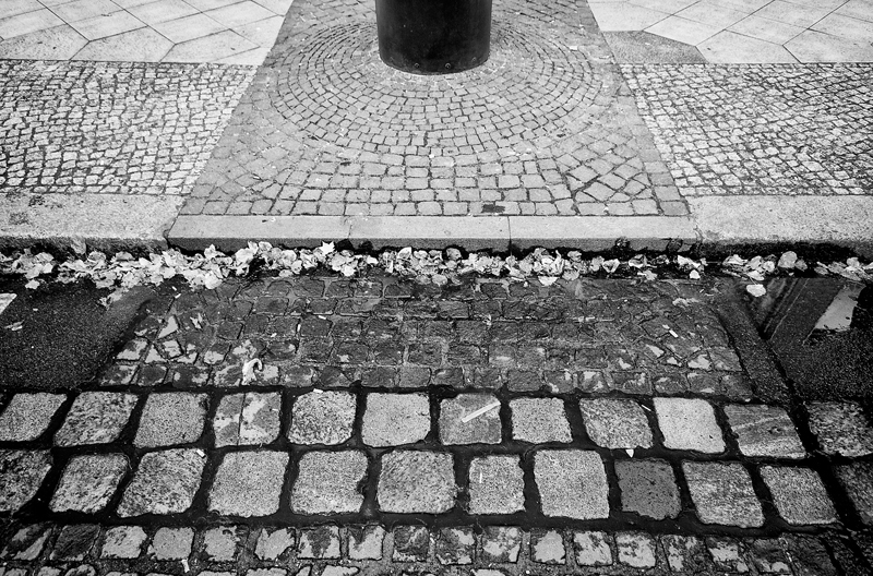 PETER FECHTER   A cobblestone path marks the former location of the wall along Zimmerstrasse, where on August 17, 1962, a teenager from East Germany, Peter Fechter, was shot in the back as he attempted to escape over the Wall with his friend Helmut Kulbeik. He laid tangled in barbed-wire and bled to death an hour later in plain view of Western and East German onlookers. Despite his screams for help, he received no medical attention.  In March 1997, two former East German guards, Rolf Friedrich and Erich Schreiber, faced manslaughter charges for Fechter's death.  They admitted to his shooting and both were convicted and sentenced.