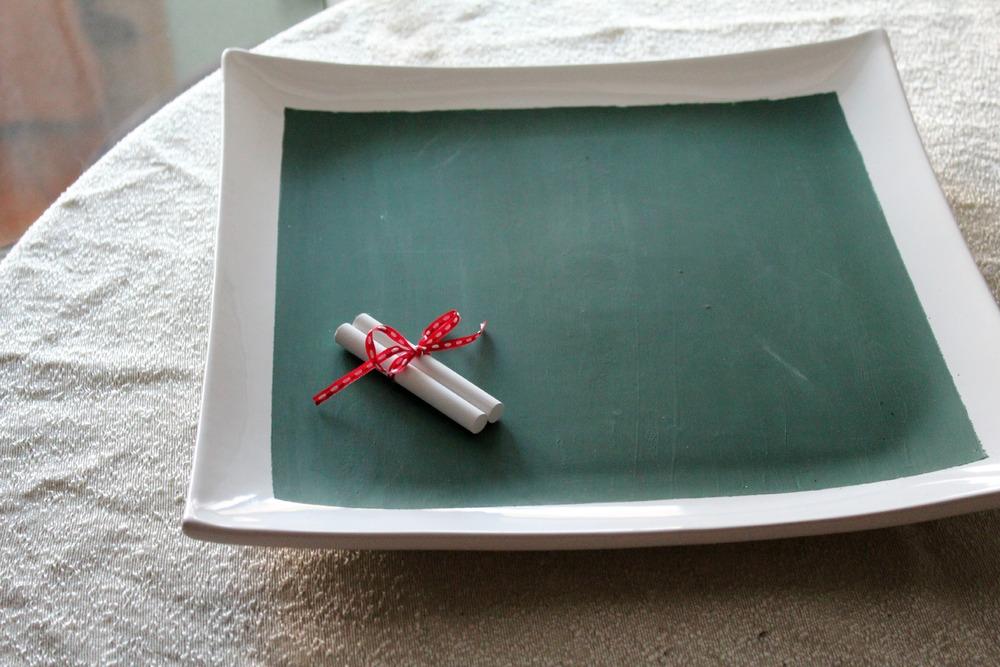 Chalkboard Cheese Platter