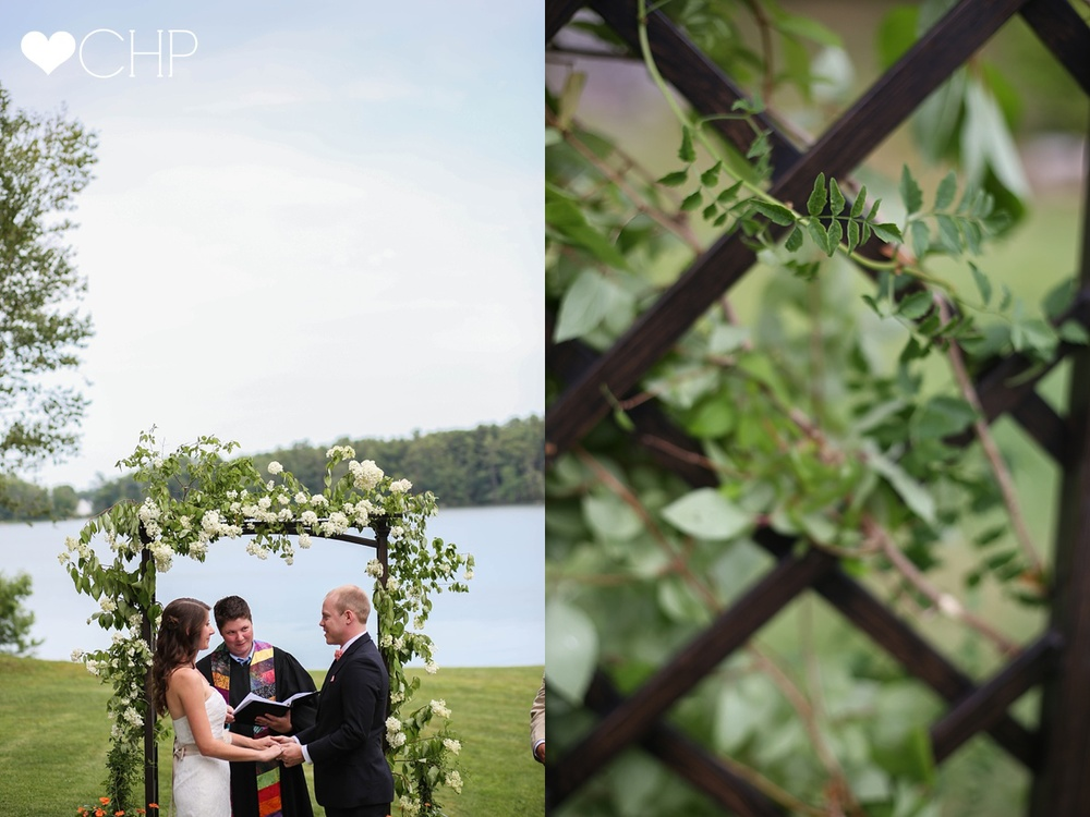 Maine Wedding by water