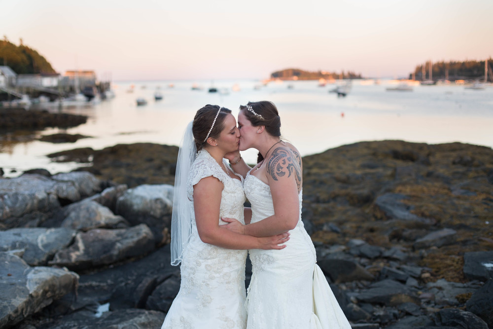 Tenants Harbor Maine Wedding Photographers