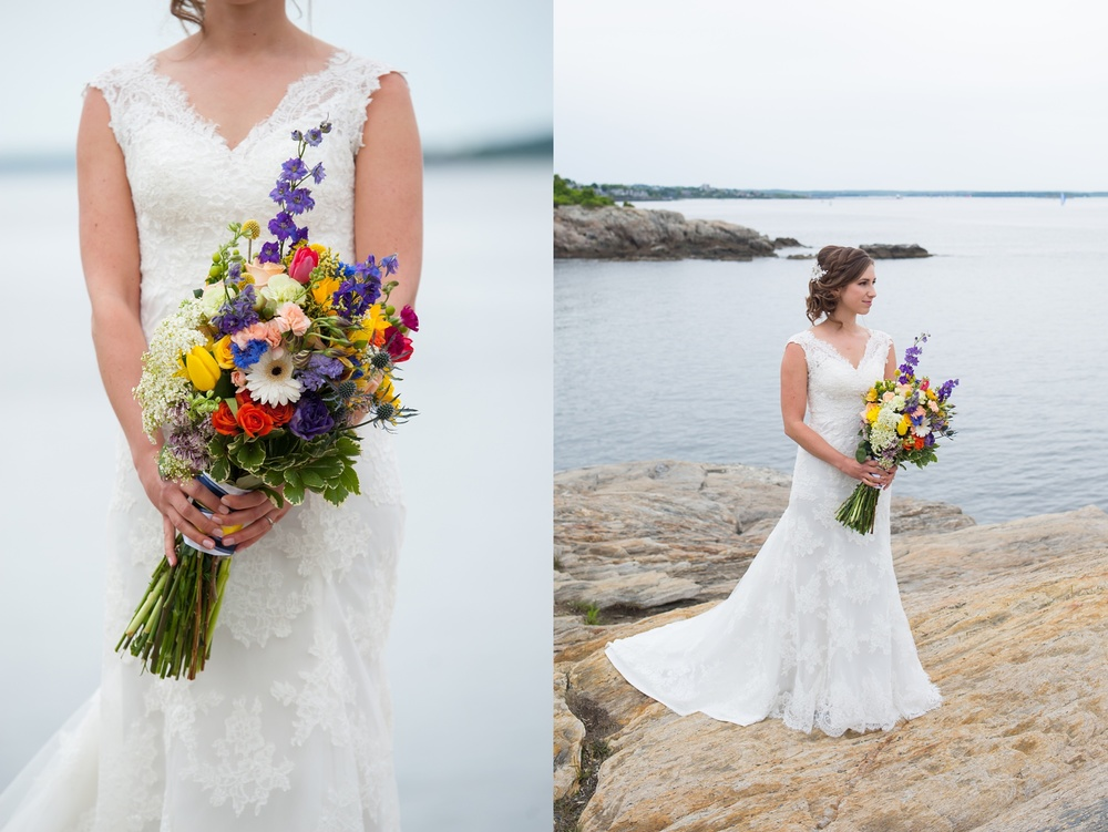 Bridal Portraits Cape Elizabeth Maine