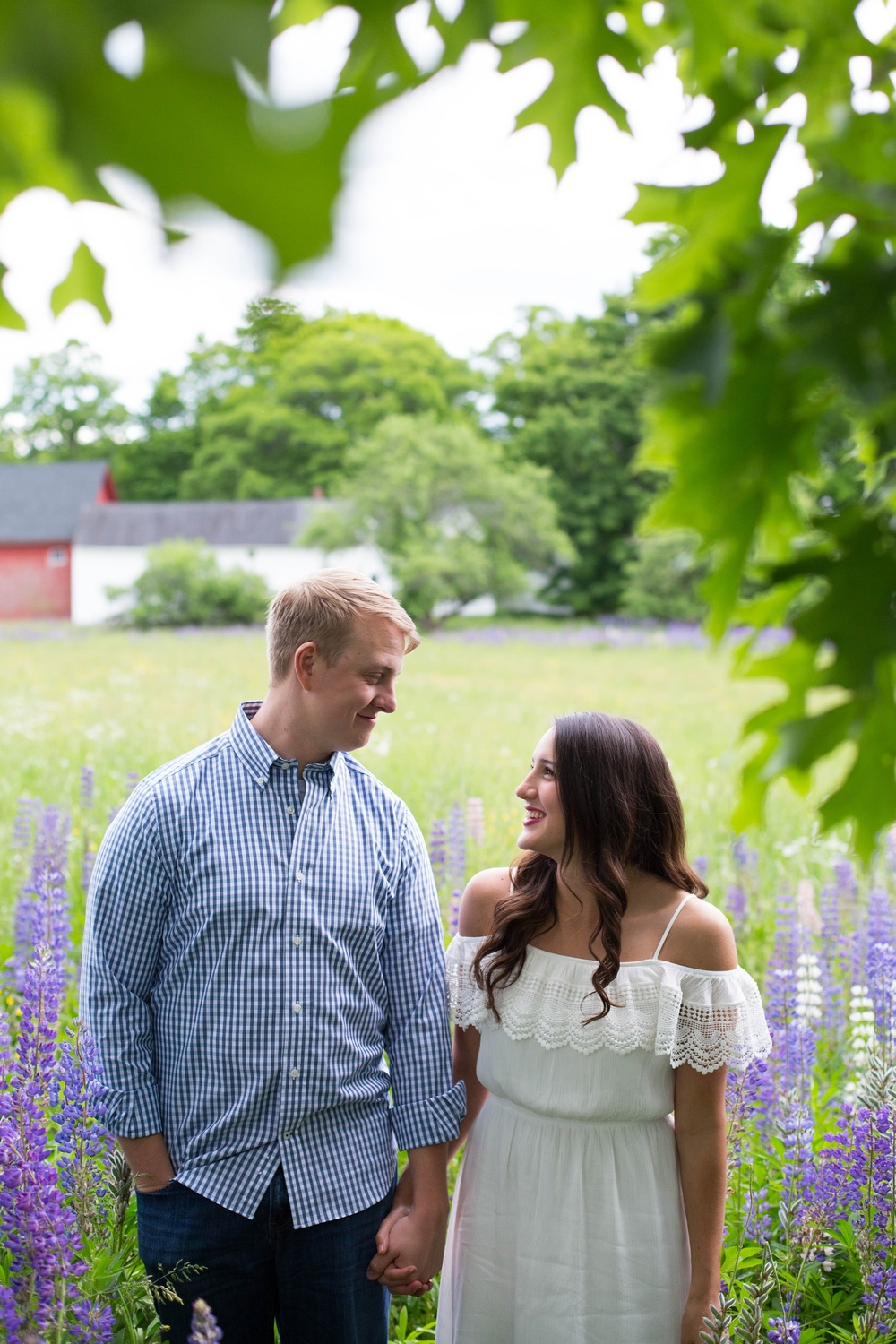 Great Maine Engagement Photography