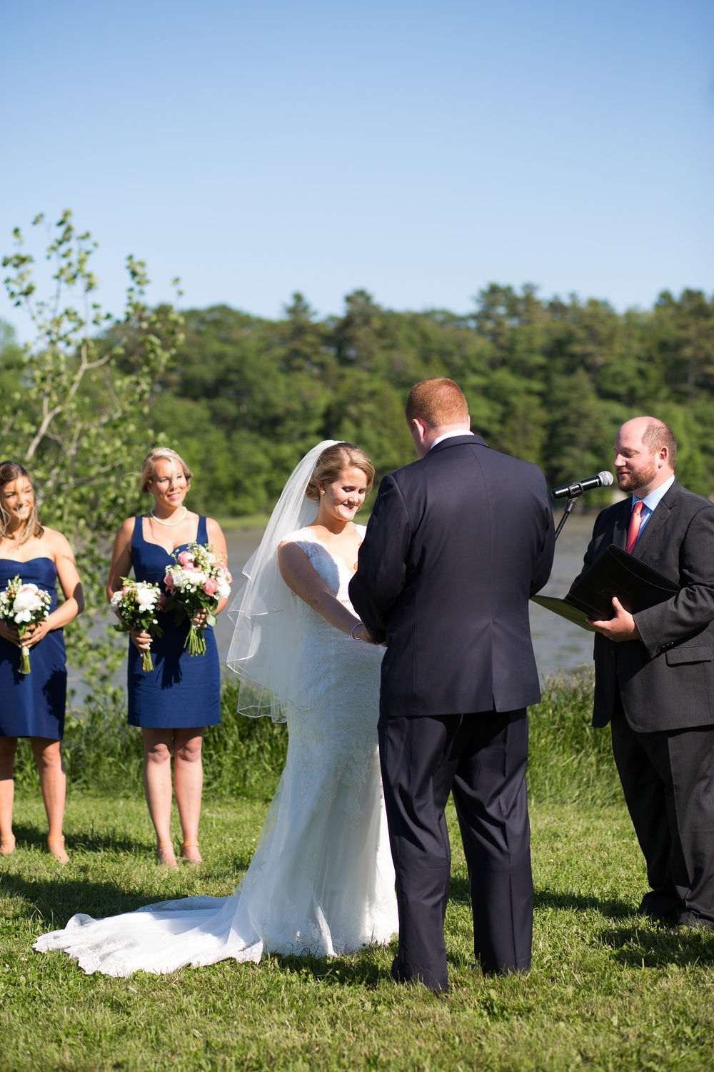 Freeport Maine Wedding Field