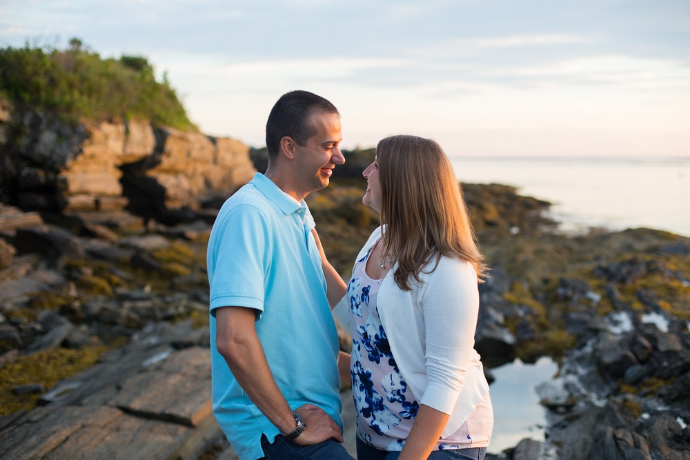 Kettle Cove Engagement Session