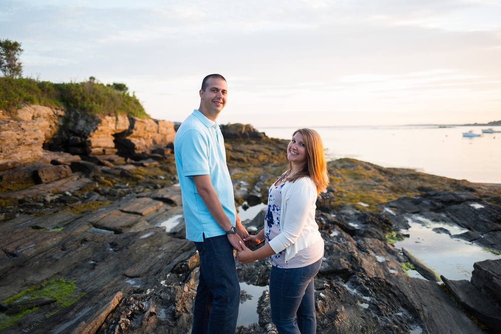 Engagement Pictures in Maine