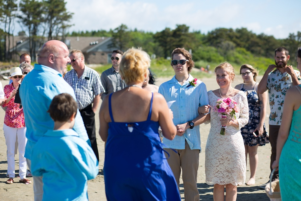 Popham Beach Elopement