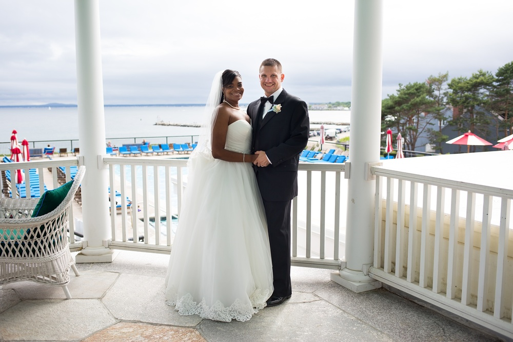 Wedding pictures taken in Kennebunkport
