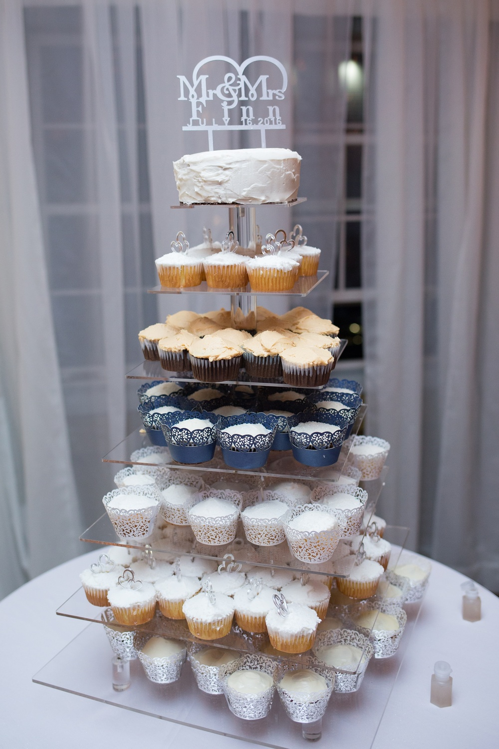 cupcakes as a wedding dessert