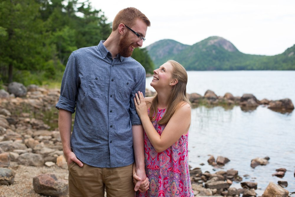 Acadia Engagement Pictures