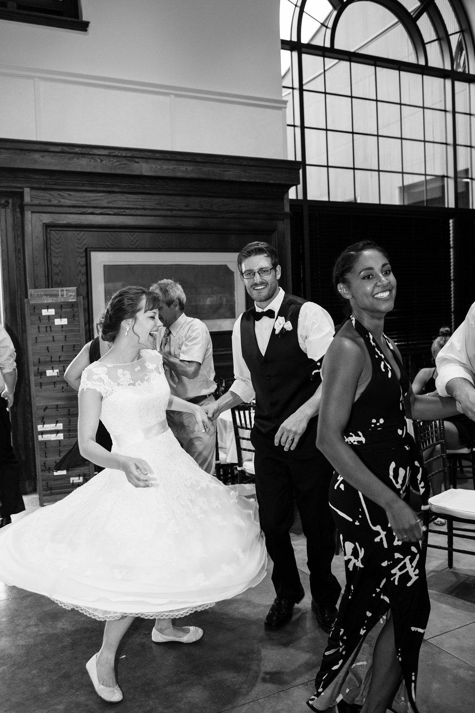 Maine Wedding Contra Dancing