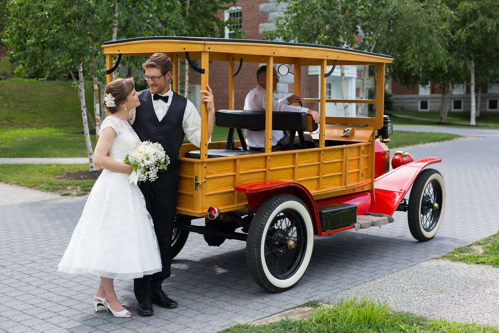 Wedding Photos at Bates College