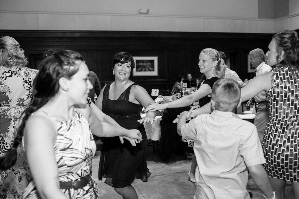 Maine wedding reception photos