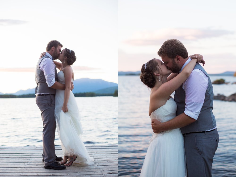 Mount Katahdin Wedding