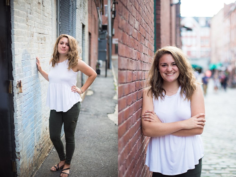 downtown senior pictures
