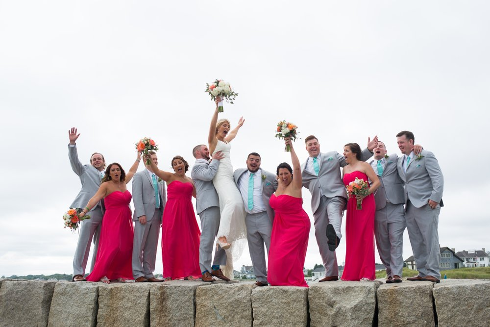Bridal Party Photos Kennebunkport