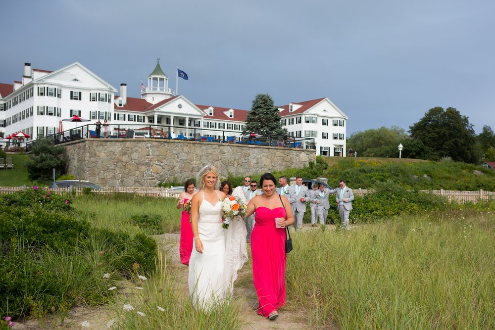 Maine wedding venues by ocean