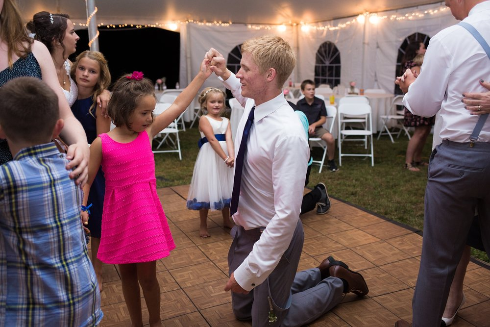 dancing at weddings