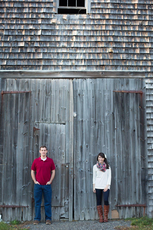 Farm Engagement Pictures Maine