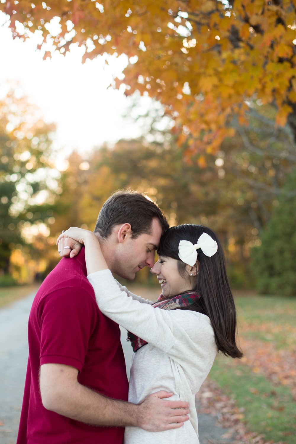 Engagement Photographers in Falmouth Maine