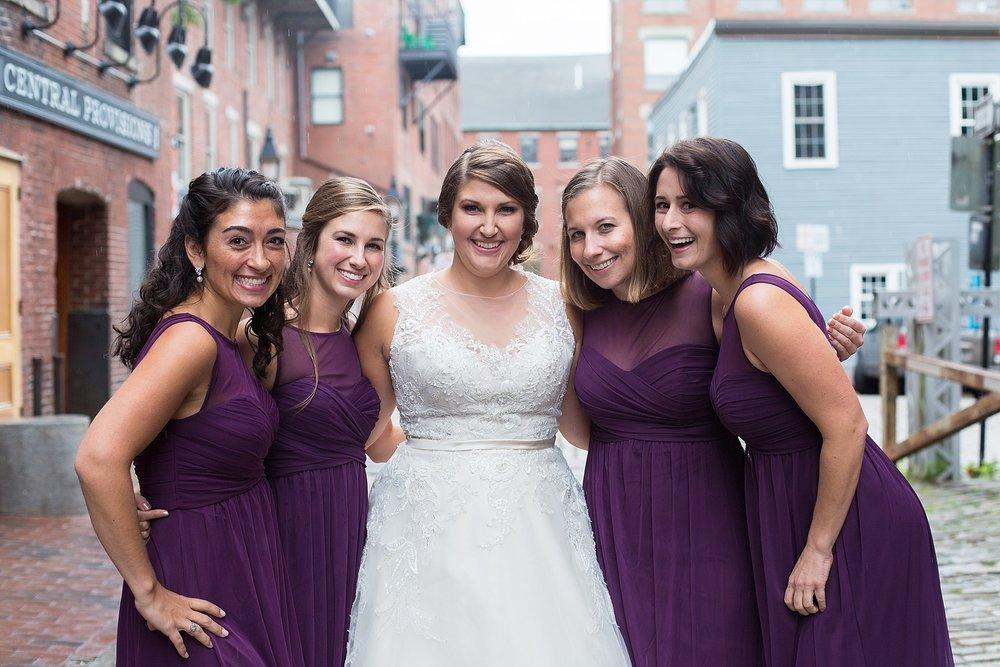 Downtown Portland Maine Wedding
