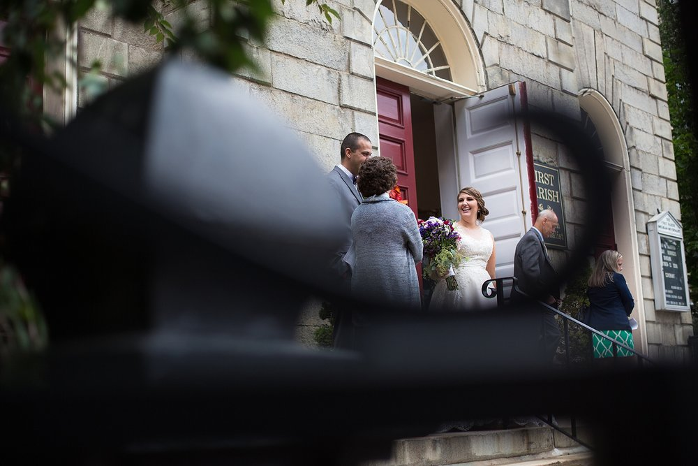 Portland Maine Wedding Ceremony