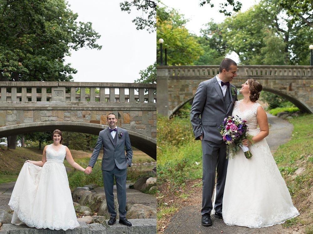 Wedding Photos Deering Oaks Park