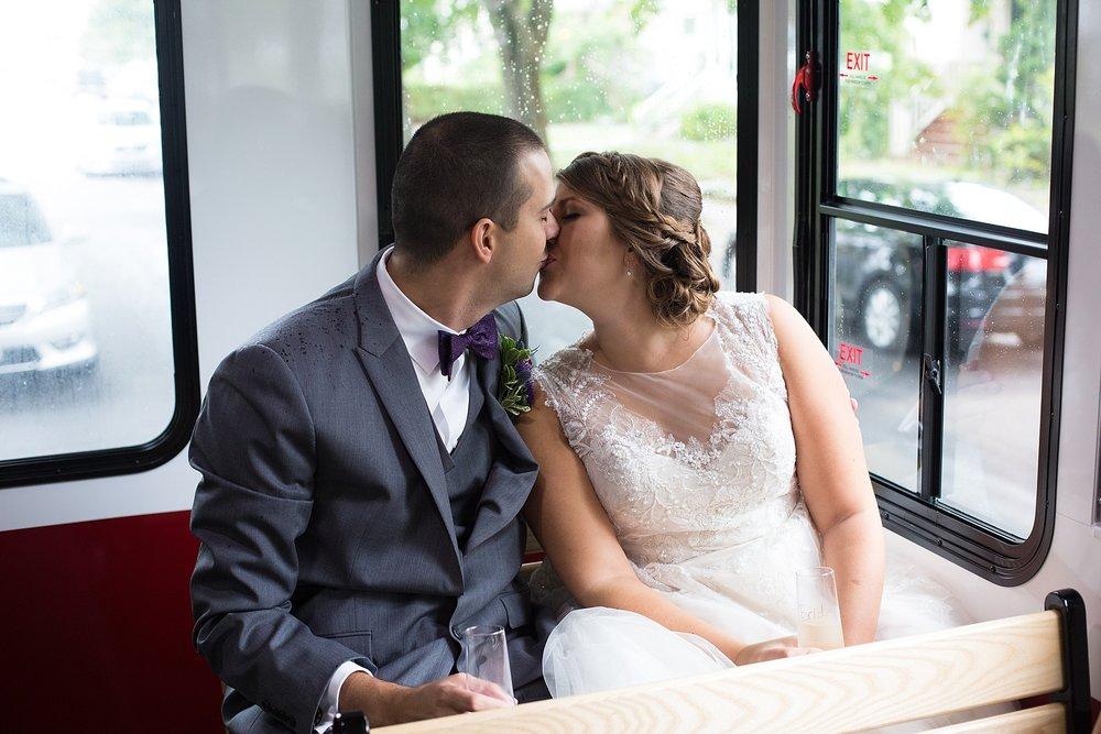 Portland Maine Wedding Trolly