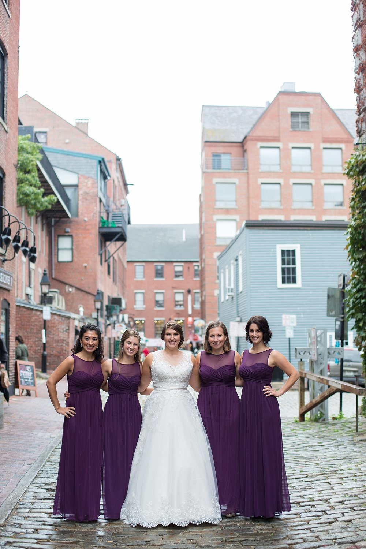 Downtown Portland Maine Wedding Photos