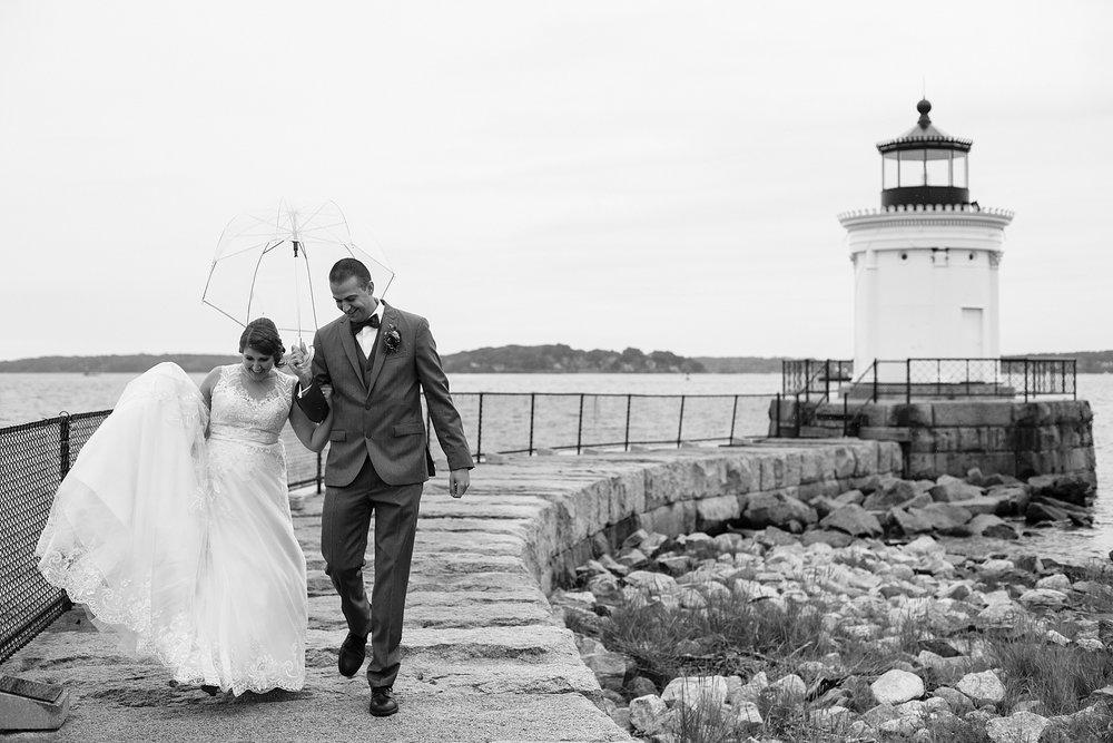 Bug Light Portland Maine Wedding