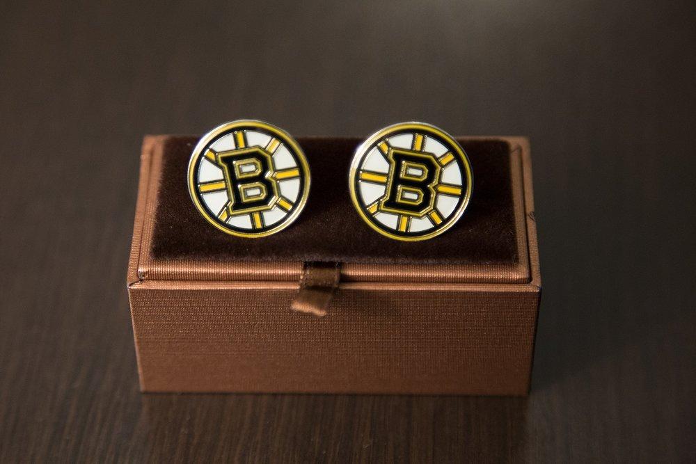 Boston Burin cufflinks