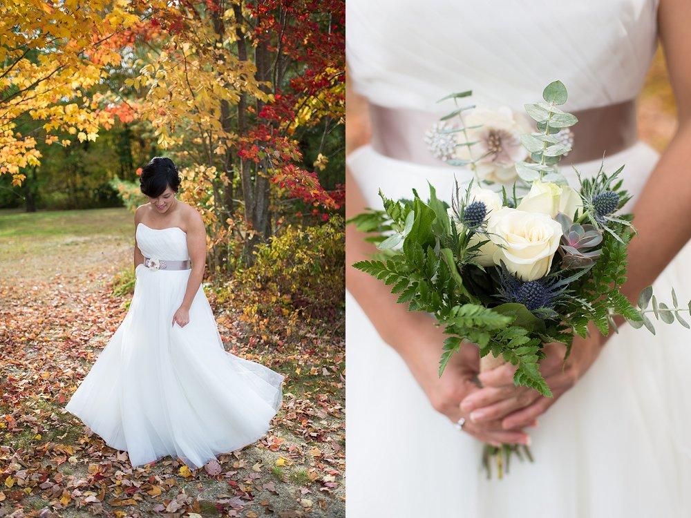Maine Autumn Wedding