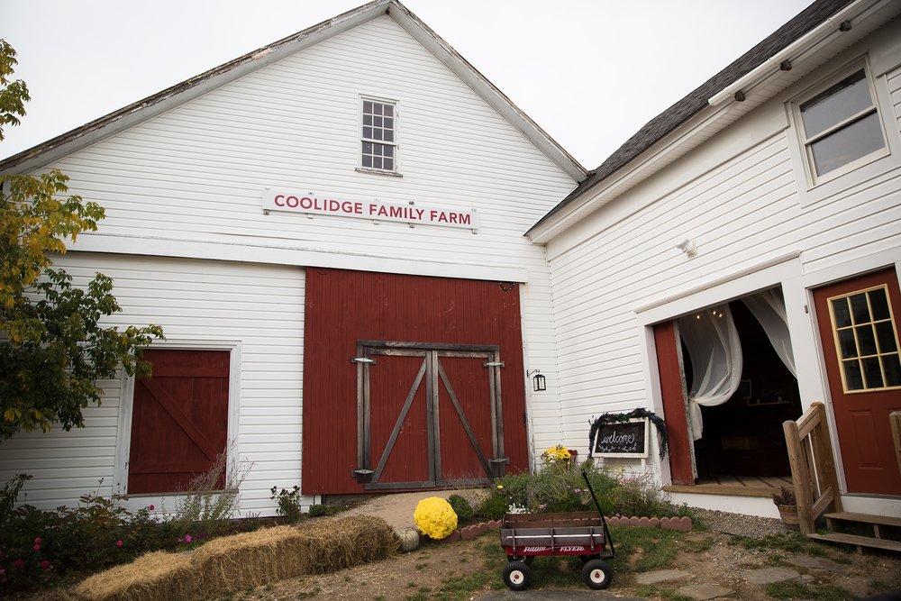 Weddings at Maine barns