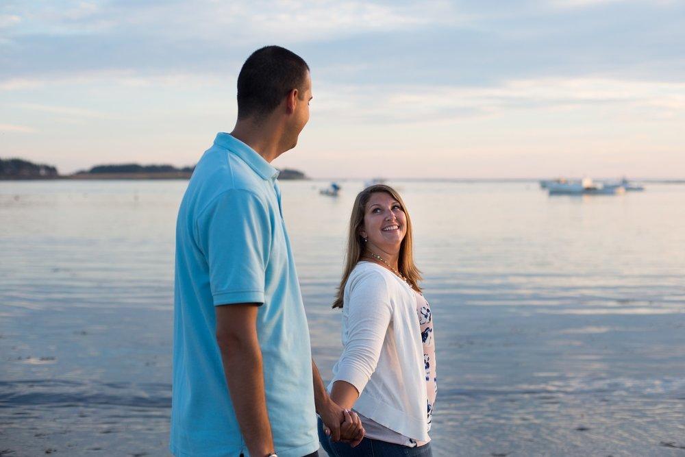 Kettle Cove Cape Elizabeth Engagement