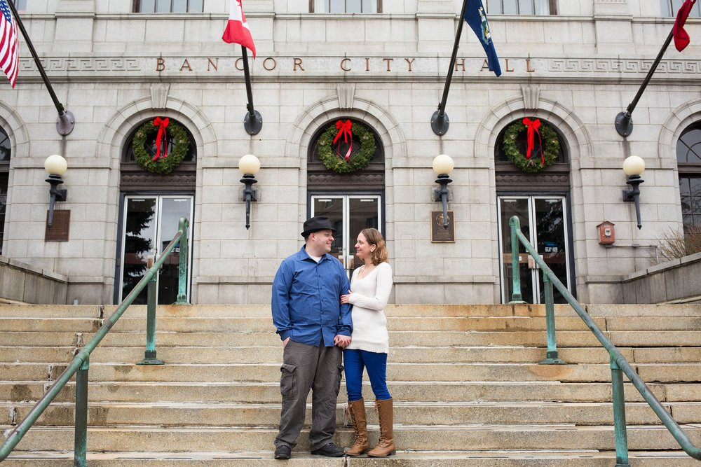 Festive Engagement Session