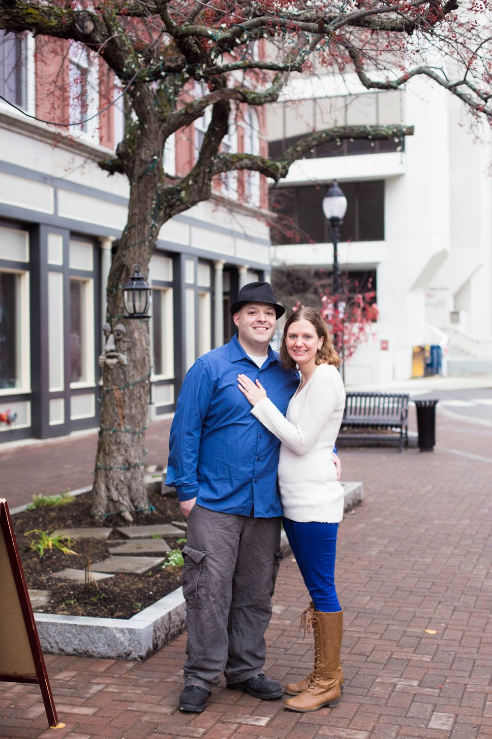 Downtown Bangor Engagement Session