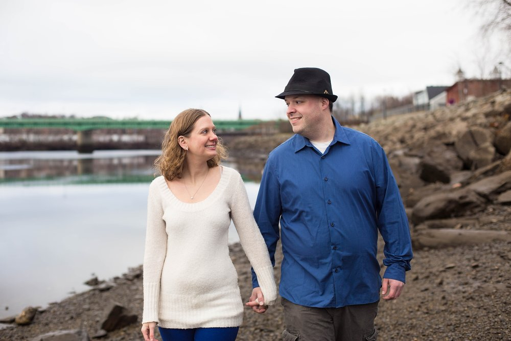 Bangor Maine Engagement Pictures