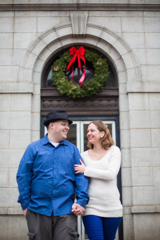 Bangor Maine City Hall Engagement