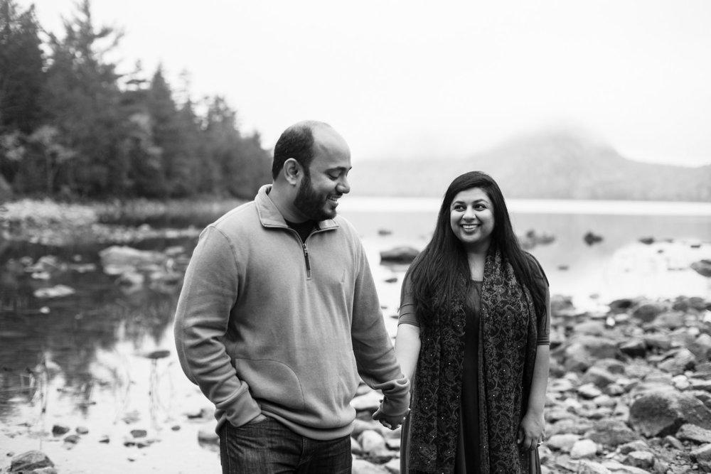 Bar Harbor Maine Proposal Photographer
