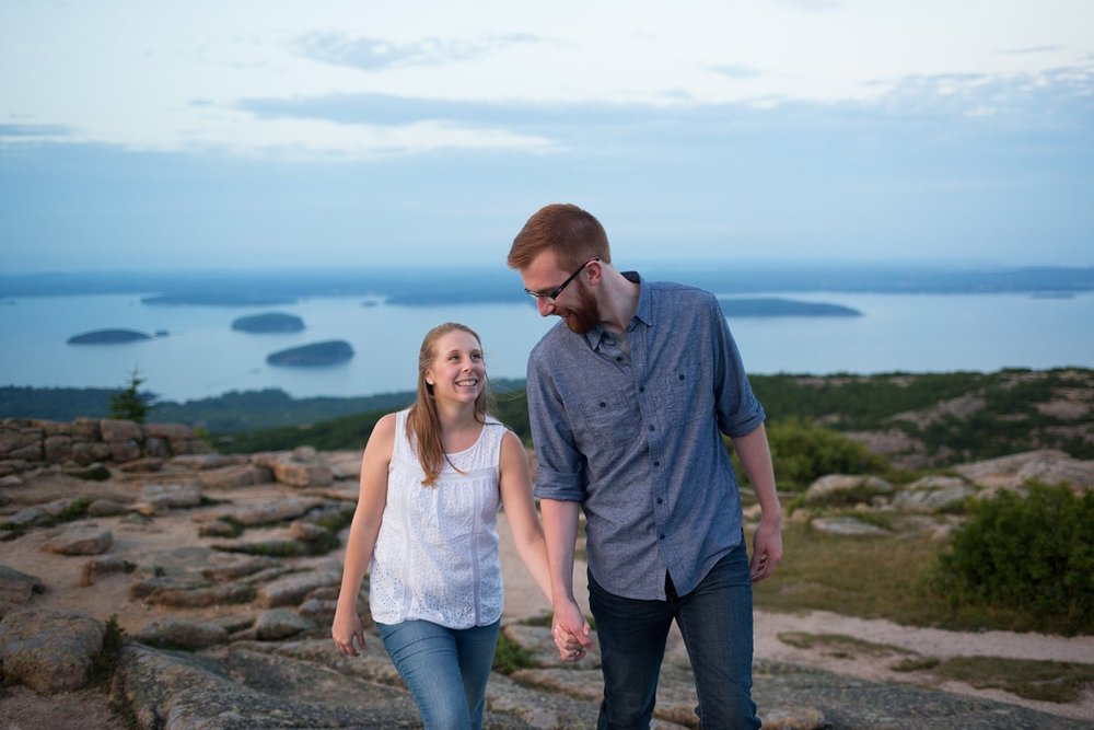 Acadia National Park Engagement