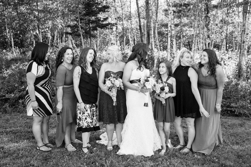 family formal photos during wedding