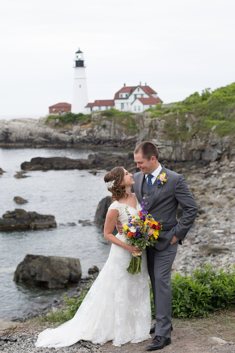 Cape Elizabeth Maine Wedding Pictures