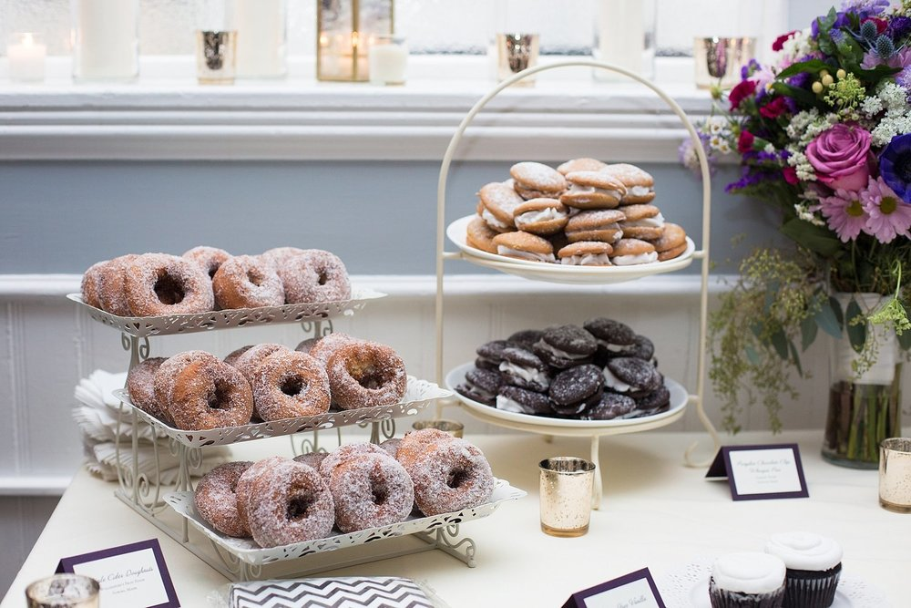 wedding doughnut bar