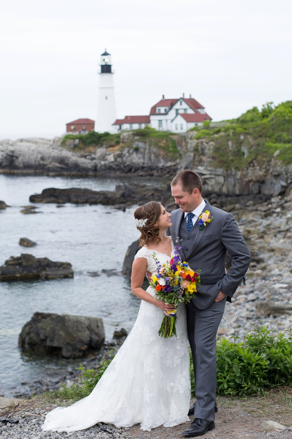 Fort Williams Maine Wedding Pictures