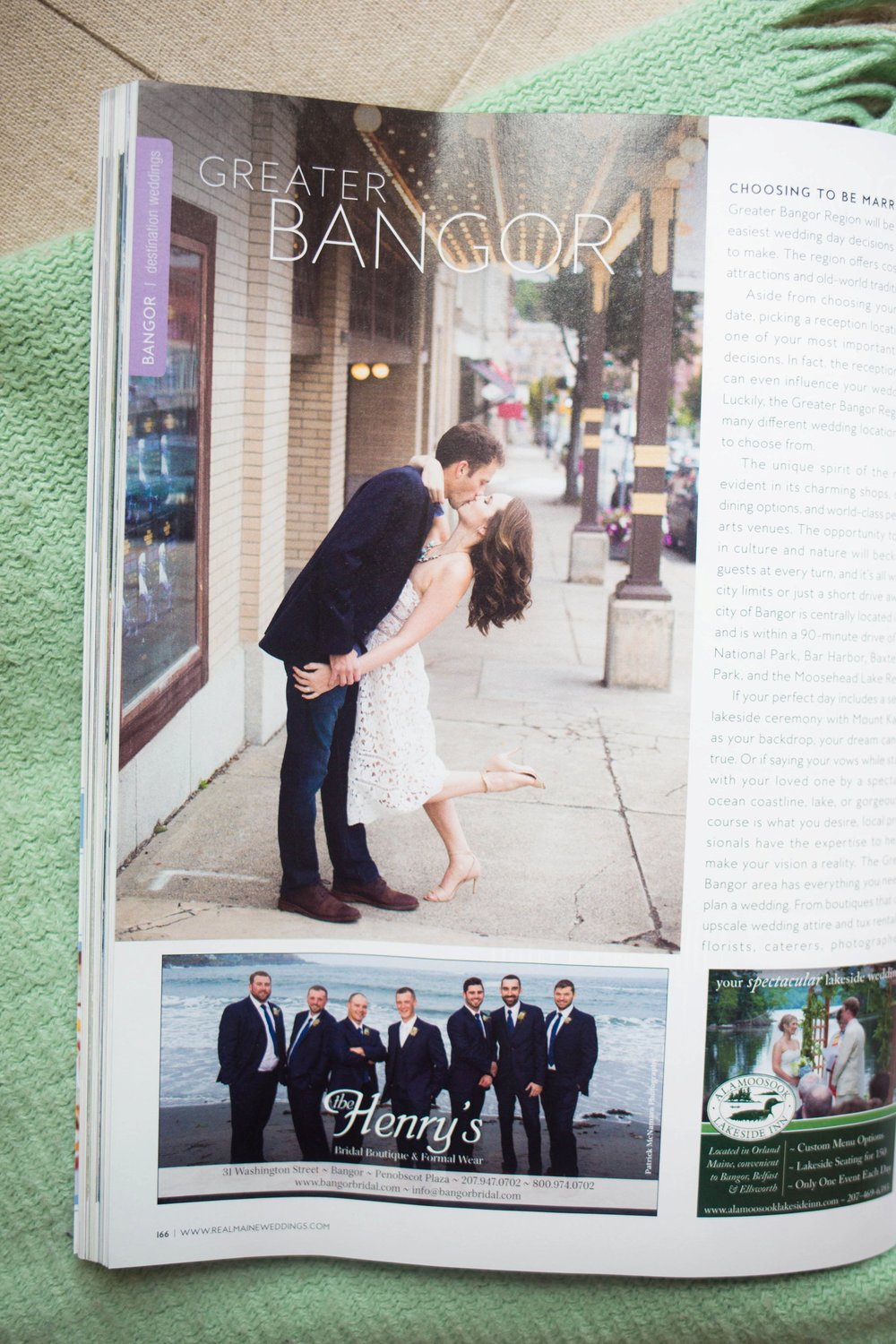 Real Maine Weddings Magazine