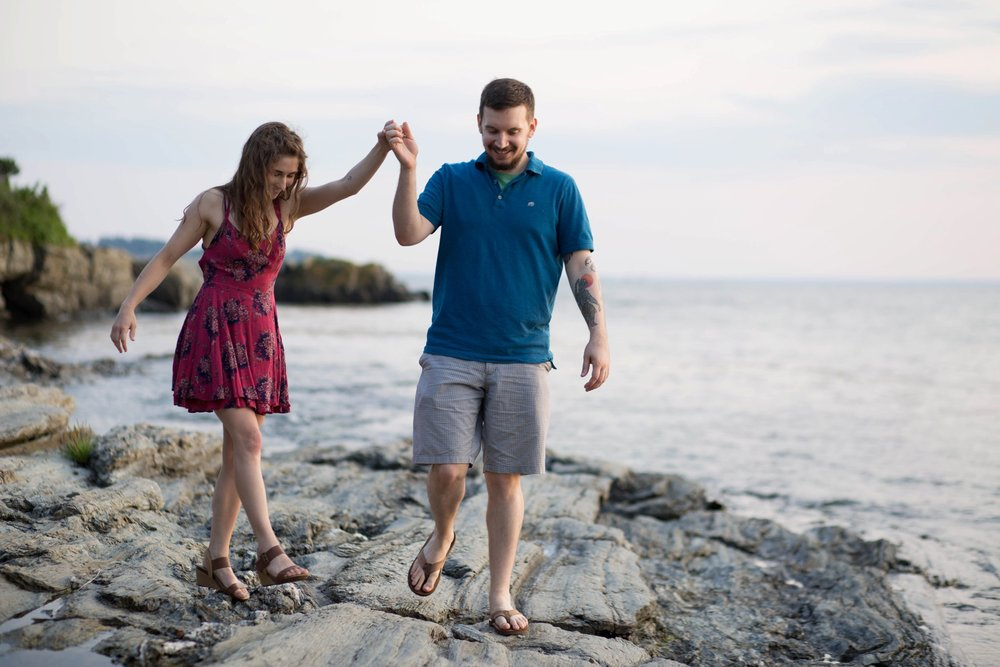 Kettle Cove Engagement Photos