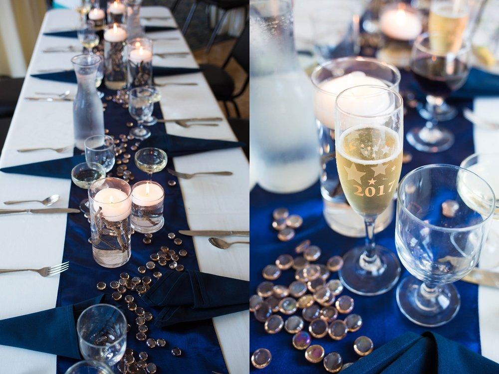 Mariners Church Banquet Center Wedding