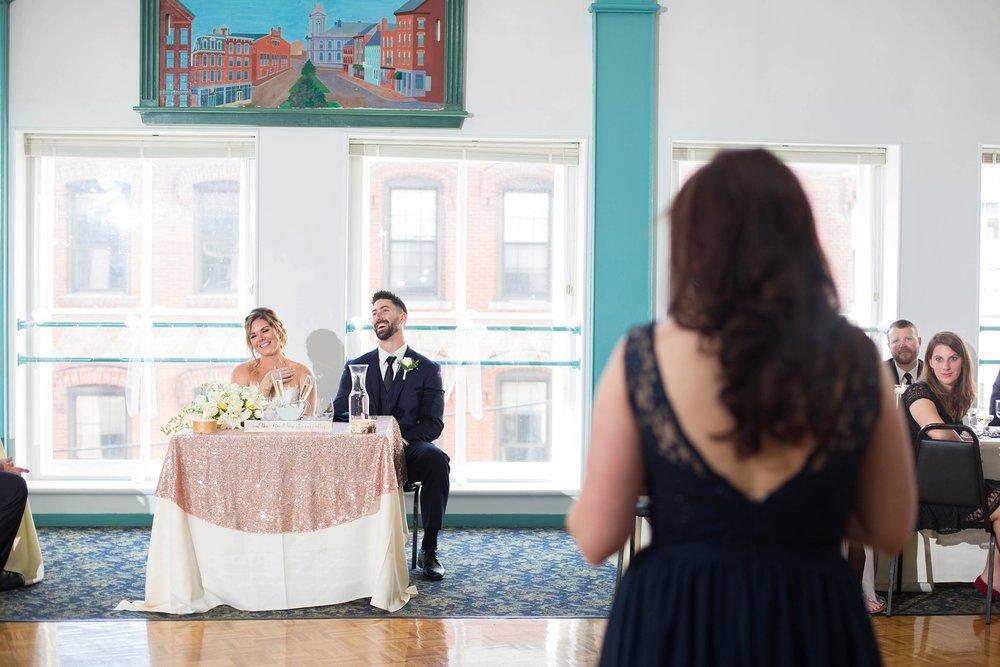 Weddings downtown Portland Maine