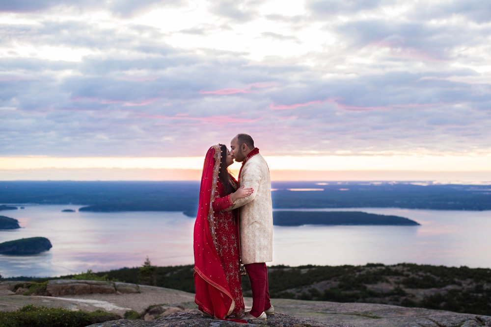 Acadia National Park Wedding Pictures